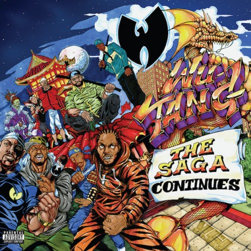 Wu-Tang Clan - The Saga Continues Poster (cover)
