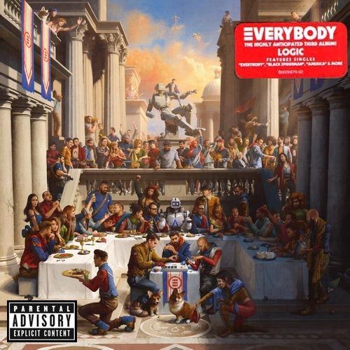 Logic - Everybody Poster (cover)