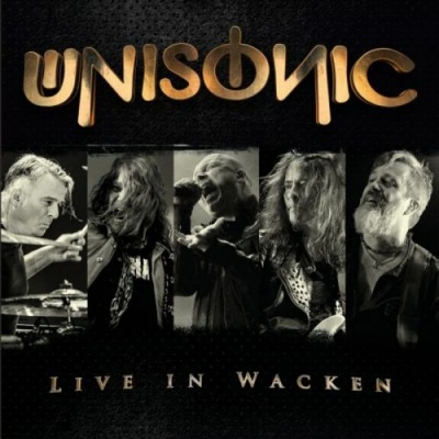 Unisonic - Live in Wacken cover (poster)