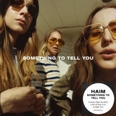 HAIM - Something To Tell You cover (poster)