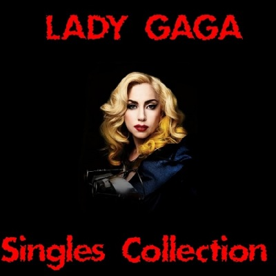 Lady Gaga - Singles Collection (2 CD) Poster (cover)