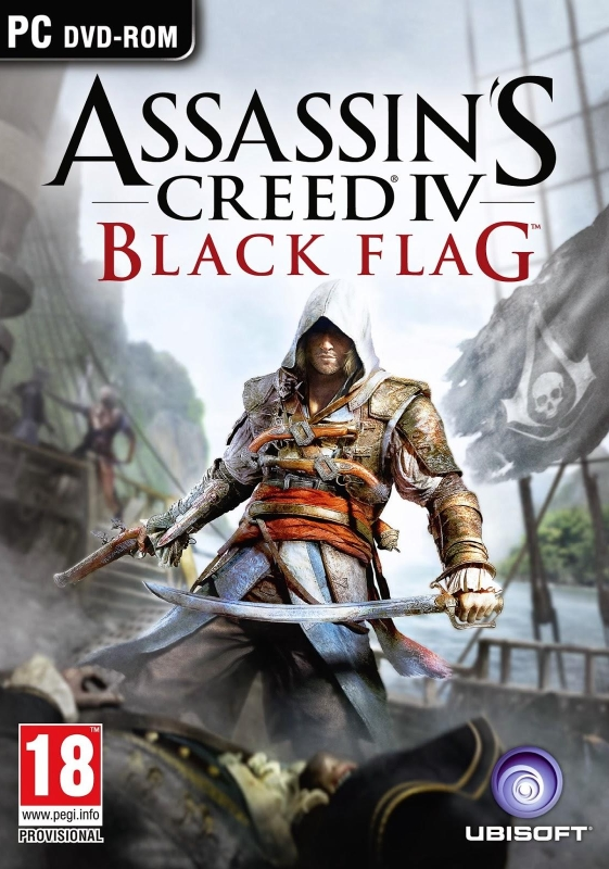Assassin's Creed IV: Black Flag [RePack] cover (poster)