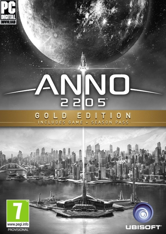 Anno 2205: Gold Edition [RePack] cover (poster)