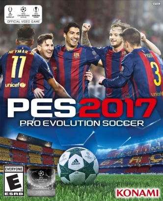 Pro Evolution Soccer 2017 [RePack] Poster (cover)