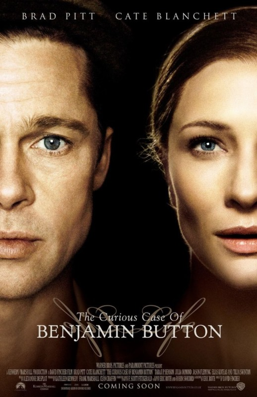 The Curious Case of Benjamin Button cover (poster)