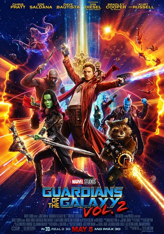Guardians of the Galaxy Vol. 2 [Blu-Ray] Poster (cover)