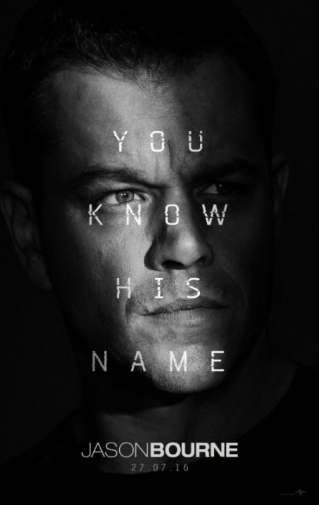 Jason Bourne [Blu-Ray] cover (poster)