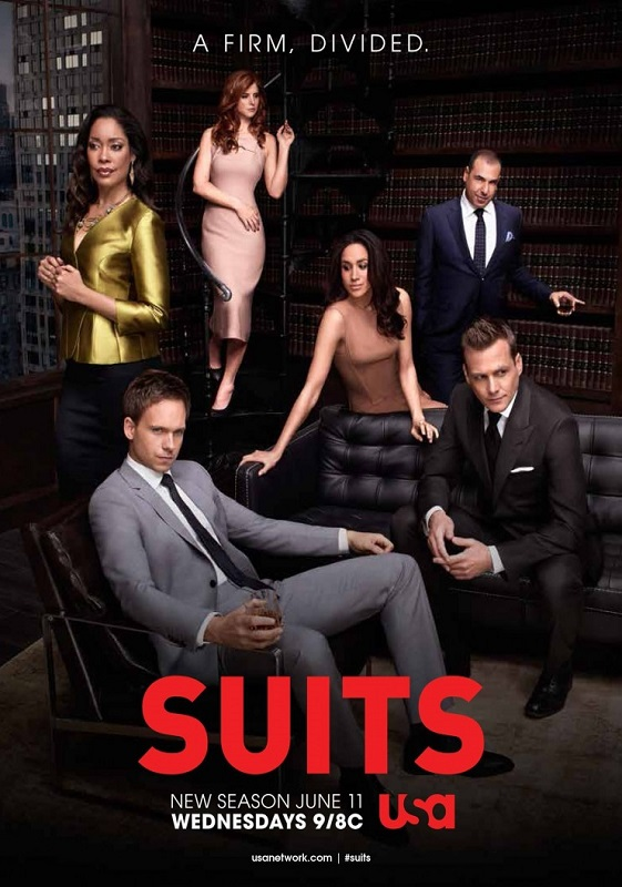 Suits season 4 cover (poster)