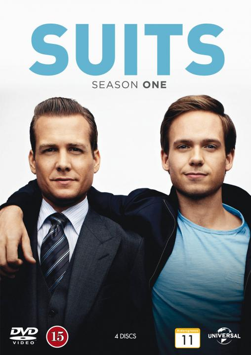 Suits season 1 cover (poster)