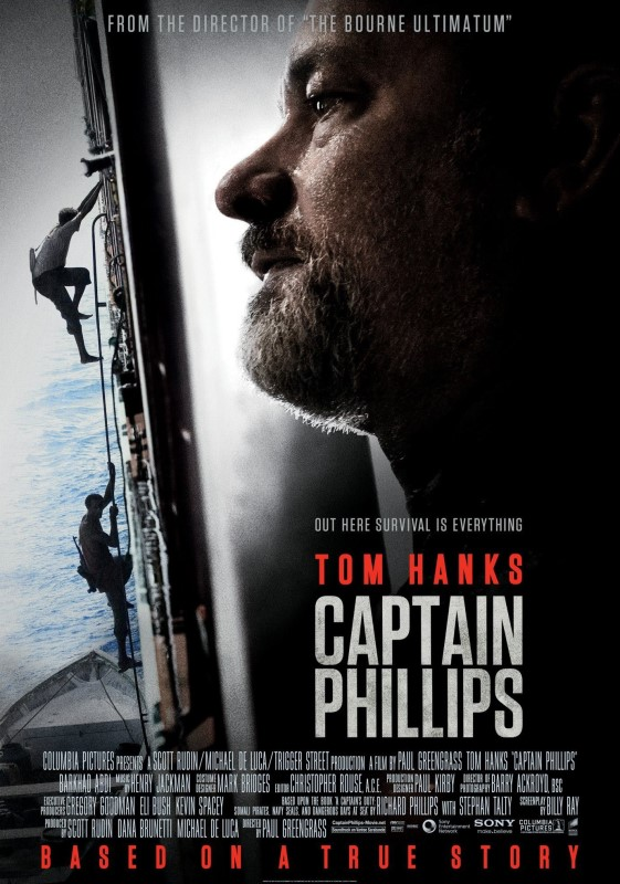 Captain Phillips [Blu-Ray] cover (poster)