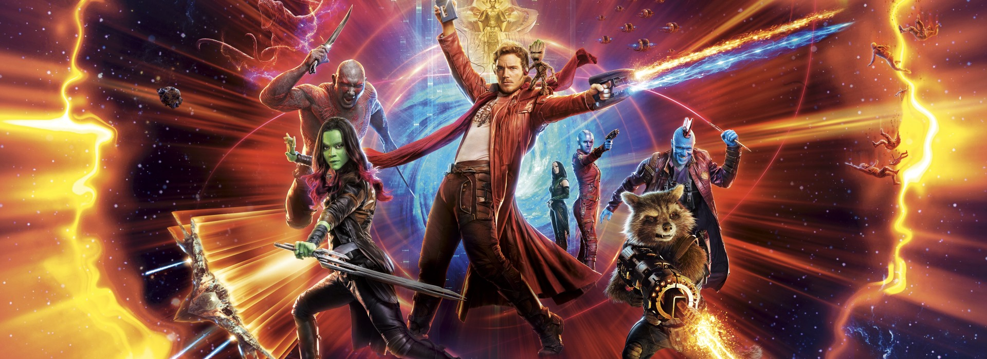 Guardians of the Galaxy Vol. 2 [Blu-Ray] cover