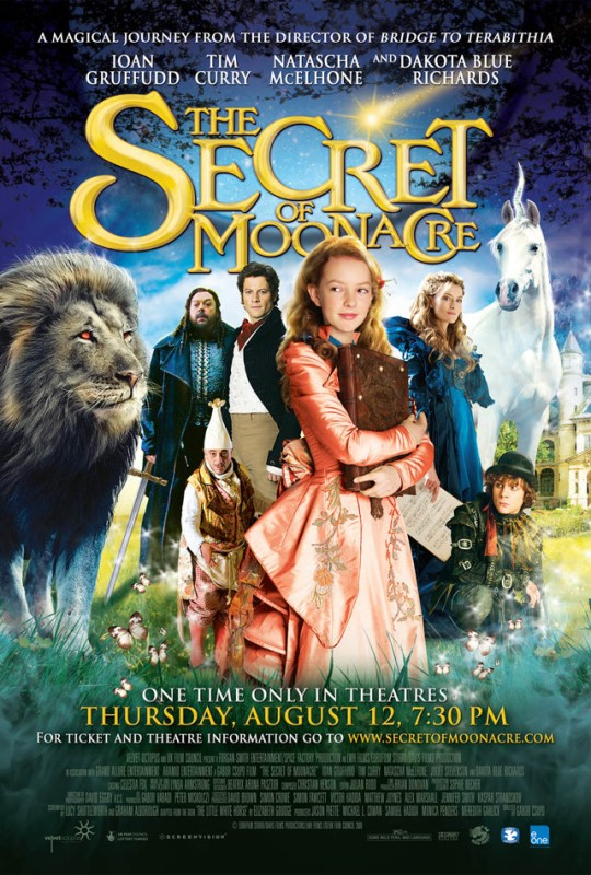 The Secret of Moonacre cover (poster)