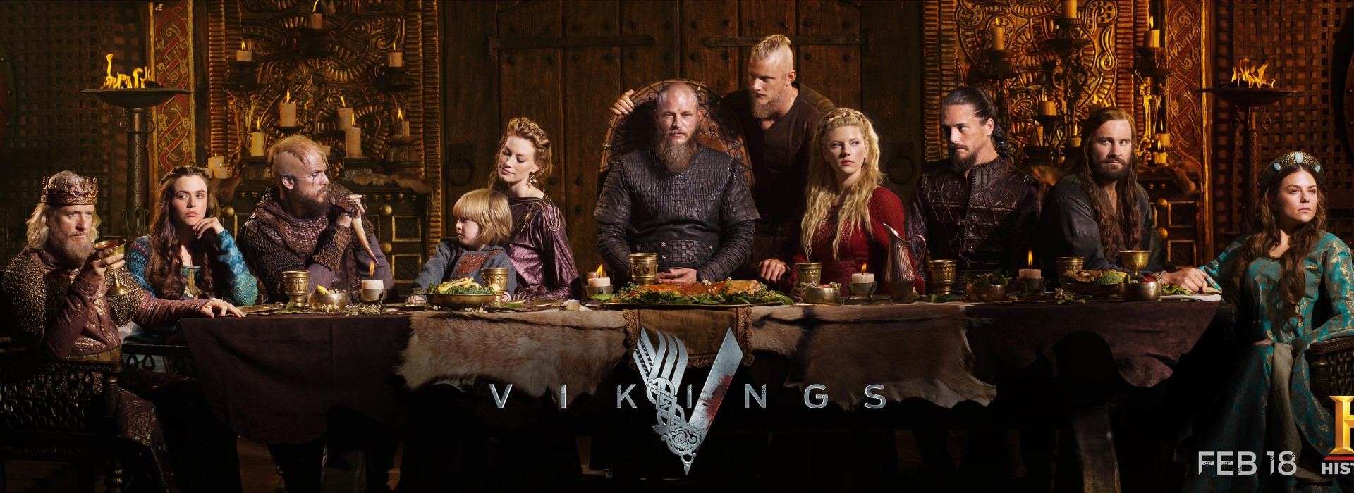 Vikings complete season 4 [Blu-Ray] 720p (Episodes 1-20) cover