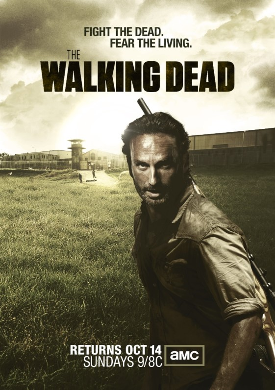 The Walking Dead Season 4 1080p cover (poster)