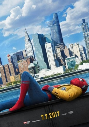 Spider-Man: Homecoming 1080p [Blu-Ray] Poster (cover)