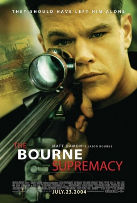 Cover The Bourne Supremacy