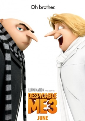 Despicable Me 3 Poster (cover)