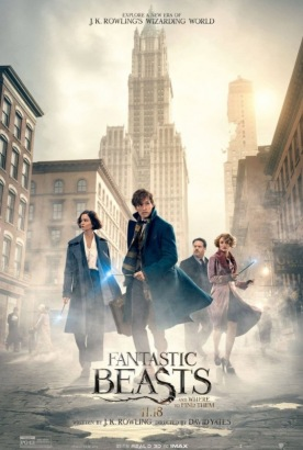 Fantastic Beasts and Where to Find Them Poster (cover)