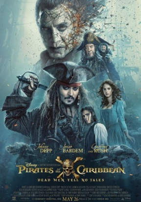Cover Pirates of the Caribbean: Dead Men Tell No Tales [Blu-Ray]