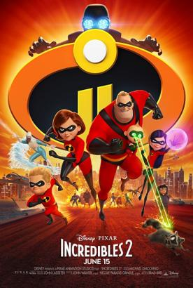 Incredibles 2 [HDTC] 720p Poster (cover)