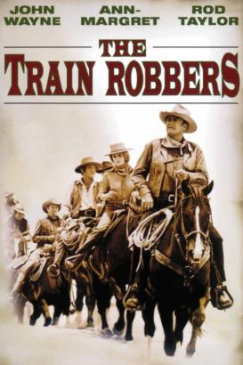 The Train Robbers Poster (cover)