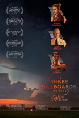 Three Billboards Outside Ebbing, Missouri Poster (cover)