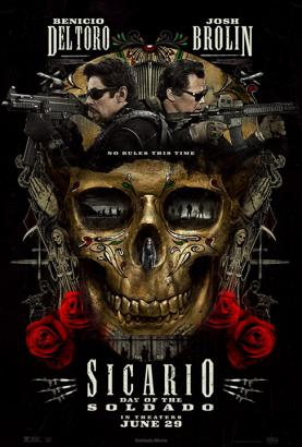 Sicario: Day of the Soldado [Blu-Ray] 1080p Poster (cover)