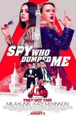 The Spy Who Dumped Me Poster (cover)