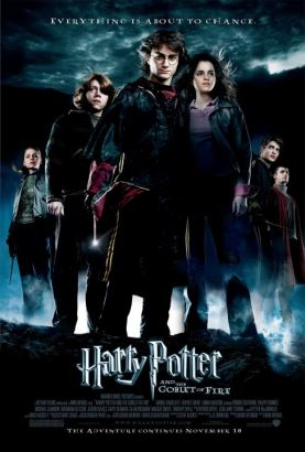 Harry Potter and the Goblet of Fire Poster (cover)