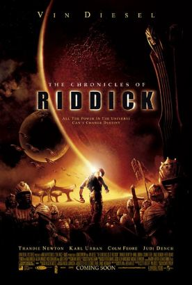 The Chronicles of Riddick Poster (cover)