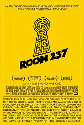 Room 237 Poster (cover)