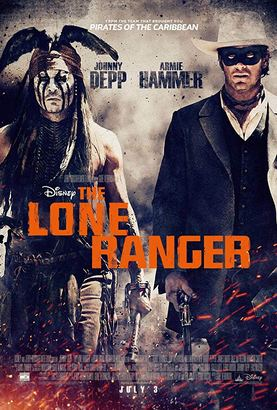 The Lone Ranger Poster (cover)