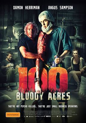 100 Bloody Acres Poster (cover)