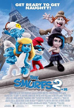 The Smurfs 2 Poster (cover)